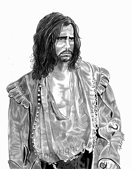 Colin Farrell by Deberg